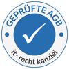 Geprüfte AGB – Vertreten durch die IT-Recht Kanzlei